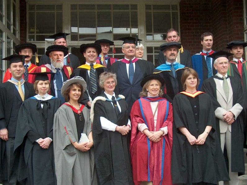 The Faculty at Cambridge University circa 1998